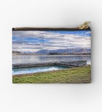 Ruataniwha Rowing Jetty and Ben Ohau Snow Studio Pouch
