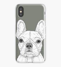 French Bulldog Portrait iPhone Case/Skin