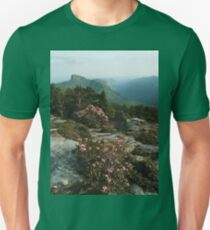 North Carolina Blue Ridge Mountains  Unisex T-Shirt