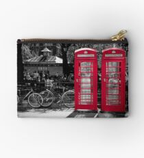 London - Red Phonebooths Studio Pouch