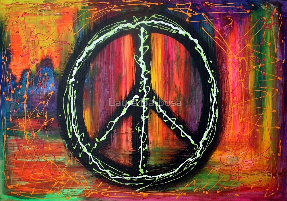 Peace Sign by Laura Barbosa