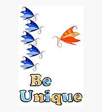 Selerissia V1 - unique fish Photographic Print