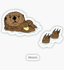 Sea Otter Sticker