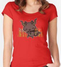 Kram Puss Women's Fitted Scoop T-Shirt