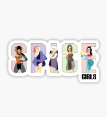 Spiceworld logo Sticker
