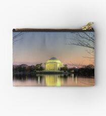 Jefferson Memorial at Dusk Studio Pouch