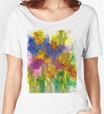 Beautiful Irises Relaxed Fit T-Shirt