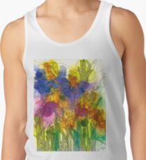 Beautiful Irises Tank Top