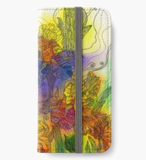 Beautiful Irises iPhone Wallet/Case/Skin