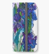 Blue Irises iPhone Wallet/Case/Skin
