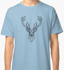 Geometric deer head Classic T-Shirt