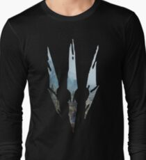 Wild Hunt Landscape Long Sleeve T-Shirt