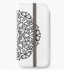 Black and white mandala original Design iPhone Wallet/Case/Skin