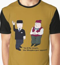 Mr Benn and the Shopkeeper Graphic T-Shirt