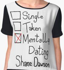 Mentally Dating Shane Dawson Women's Chiffon Top