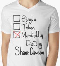 Mentally Dating Shane Dawson Men's V-Neck T-Shirt