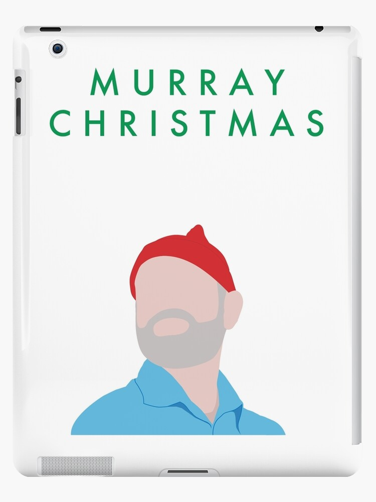 Murray Christmas Card with Bill Murray Illustration\