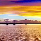 .Grand Gold Dawn. Panorama. by sunnypicsoz
