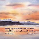 Our Focus- Psalm 16:8 by Diane Hall
