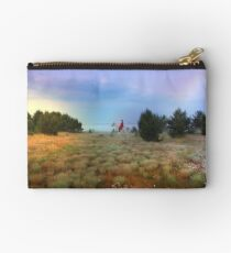 Sunrise in a valley of mists Studio Pouch