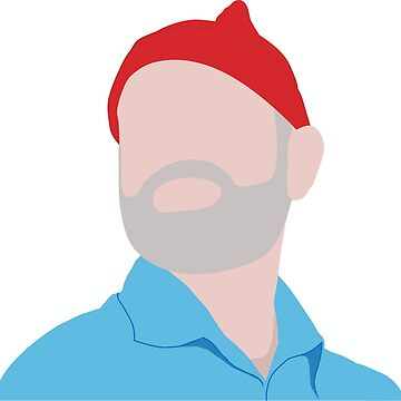 Life Aquatic with Steve Zissou Bill Murray Illustration by darthfader