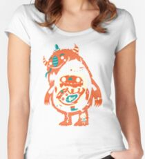 You Are Who You Eat! Women's Fitted Scoop T-Shirt