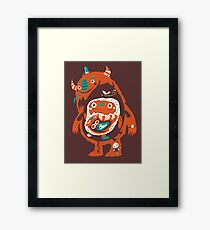 You Are Who You Eat! Framed Print