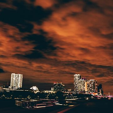 Miami City Lights by DeniseLives