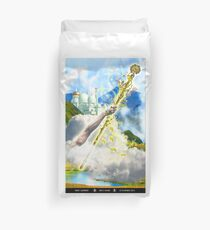 Ace of Wands Duvet Cover