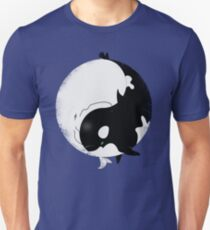 When Willy meets Moby Unisex T-Shirt