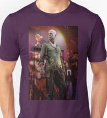 Czech Republic. Prague. Bruce Willis in the Shop Window for Sale. Unisex T-Shirt