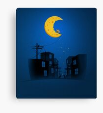 Midnight Snack Canvas Print
