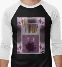 Pokemon Gastly Cigs Men's Baseball ¾ T-Shirt