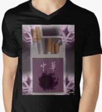 Pokemon Gastly Cigs Men's V-Neck T-Shirt