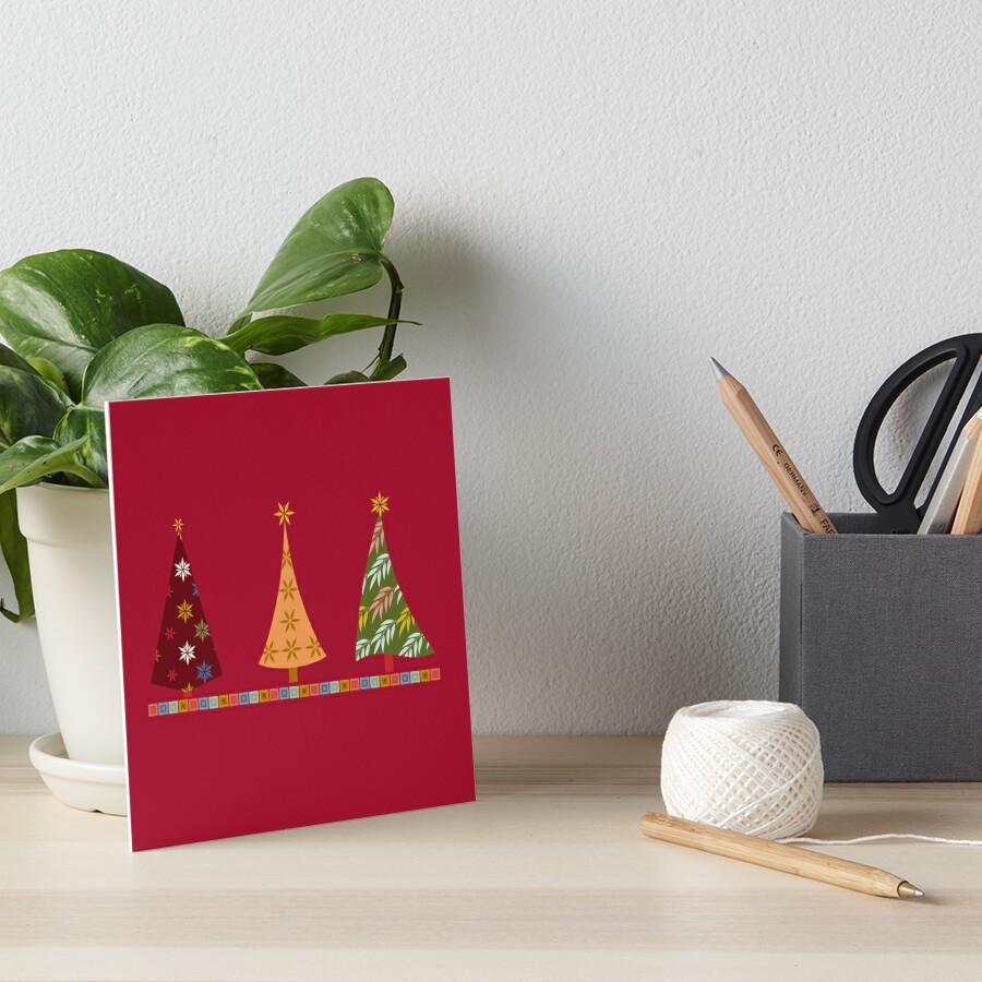 Merry Christmas! Art Board Print