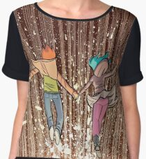 Ramona and Scott to the end Women's Chiffon Top