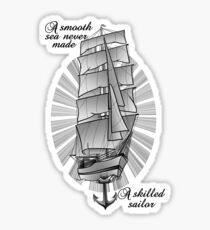 Schooner Sticker