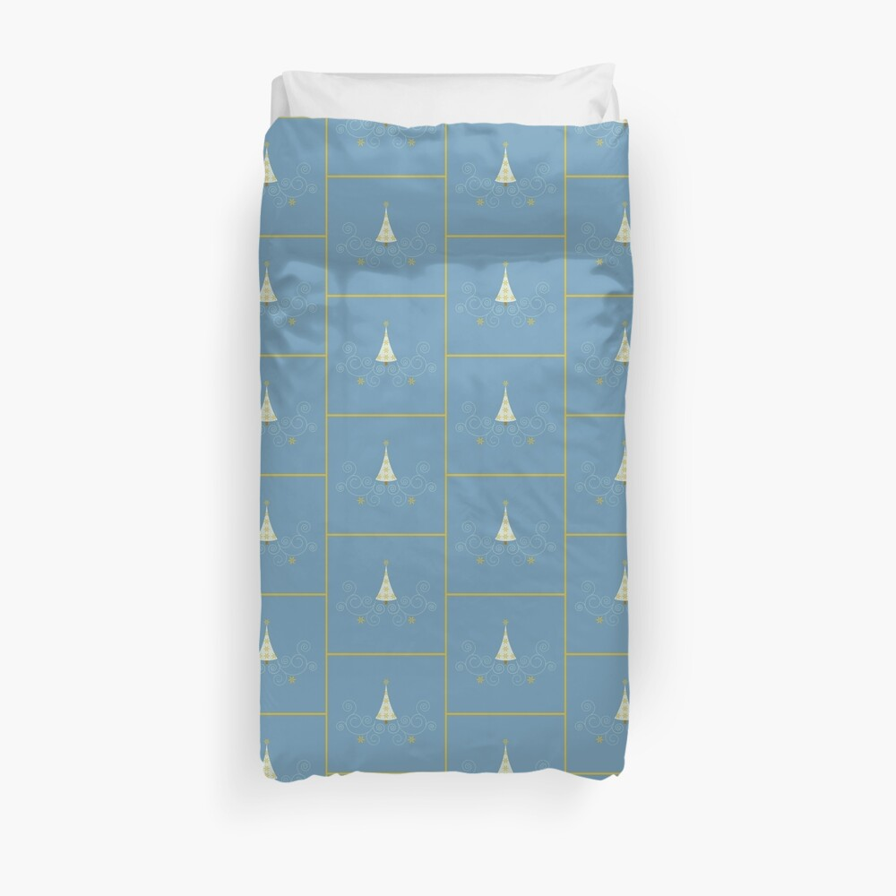 Holiday Greetings! Duvet Cover