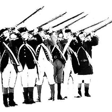 Riflemen Firing by jscroggs1