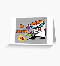 Dexter's Laboratory Greeting Card