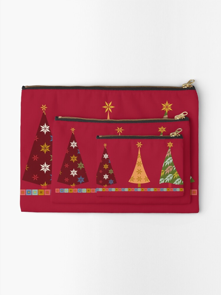 Alternate view of Merry Christmas! Zipper Pouch