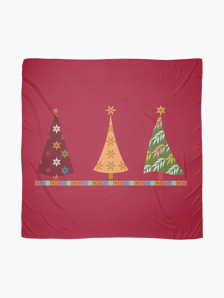 Alternate view of Merry Christmas! Scarf