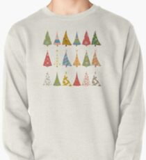 Christmas Trees Pullover Sweatshirt