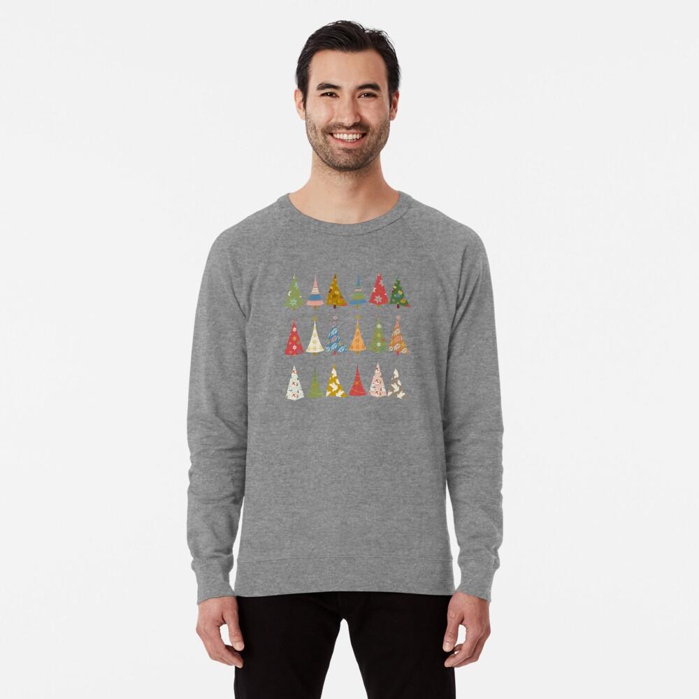 Christmas Trees Lightweight Sweatshirt