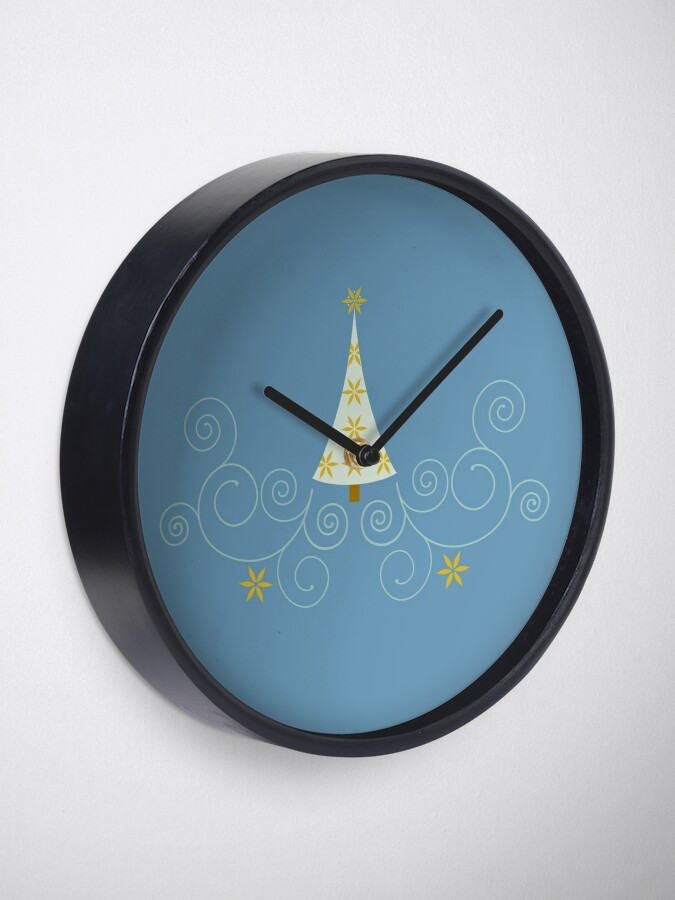 Alternate view of Holiday Greetings! Clock