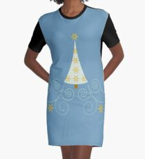 Holiday Greetings! Graphic T-Shirt Dress