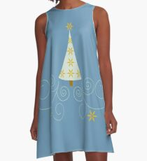 Holiday Greetings! A-Line Dress
