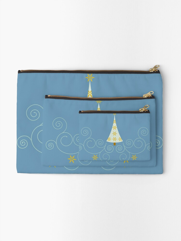 Alternate view of Holiday Greetings! Zipper Pouch