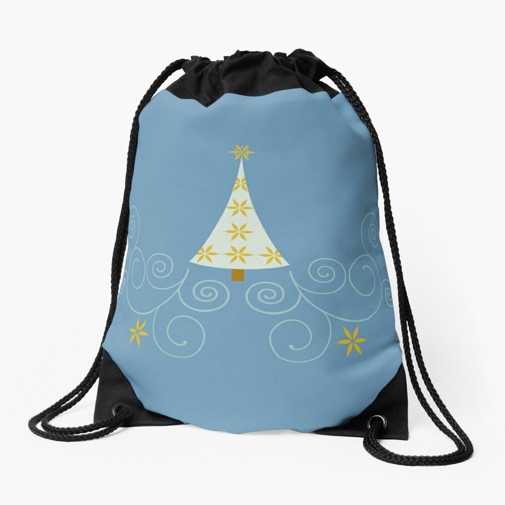 Holiday Greetings! Drawstring Bag