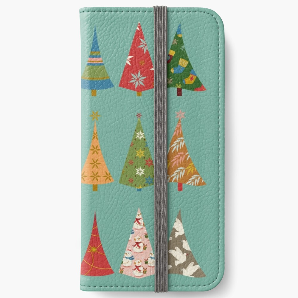 Christmas Trees iPhone Wallet